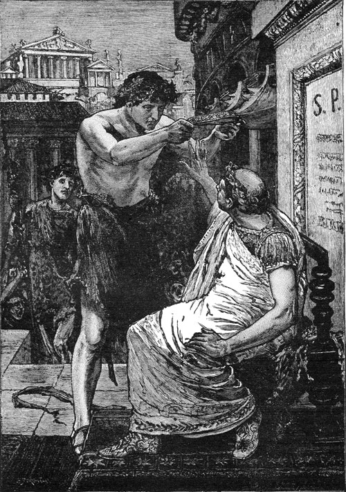 What is the difference between Julius Caesar in Shakespeare's play and Julius Caesar historically?