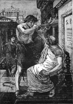 Marc Antony Offers Caesar the Crown