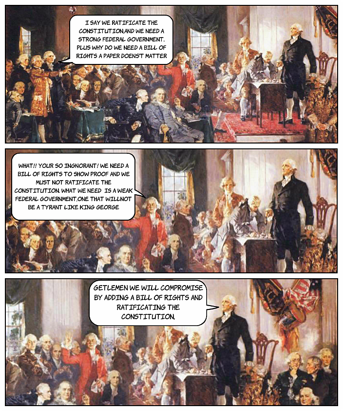 What were the positions of Federalists and antifederalists?