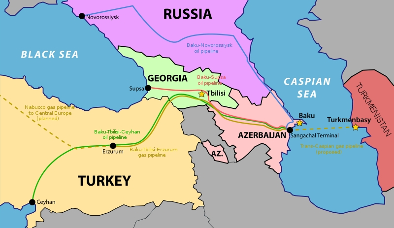 Armenia Map Middle East