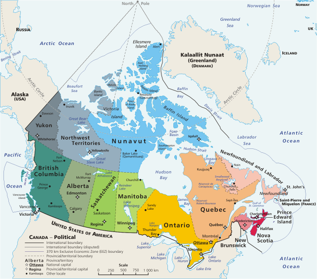 "Ellesmere Island is at the Northernmost part of Canada Government of Canada: ""Natural resources Canada."""